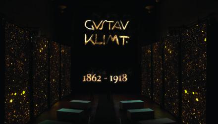 La firma di Gustav Klimt con cui l'artista era solito firmare le sue opere