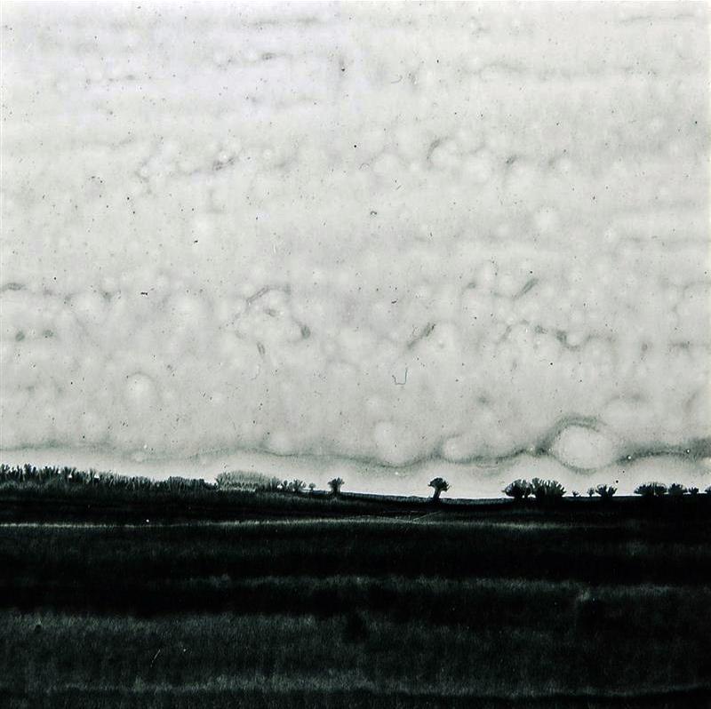 Fabio-Refosco-uno-dei-lavori-della-serie-Orizzonti-pigmento-e-resine-su-carta-montata-su-forex-2011