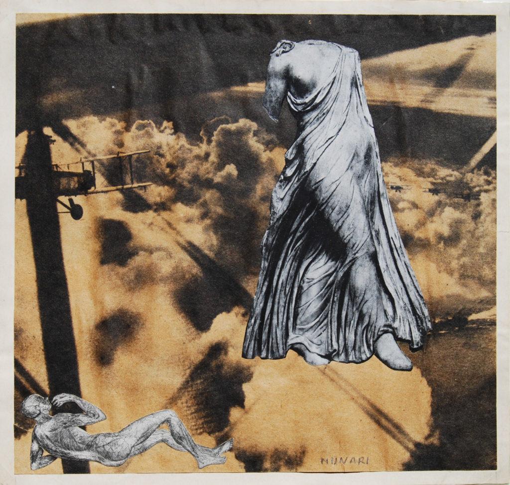 Bruno Munari, Senza titolo, 1936, collage di riproduzioni fotomec