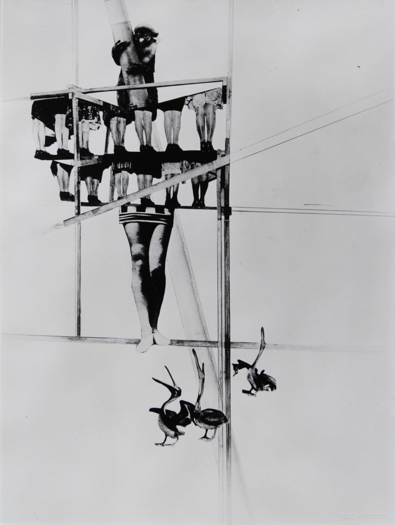 Laszlo Moholy-Nagy, La struttura del mondo, 1925 fotoplastica