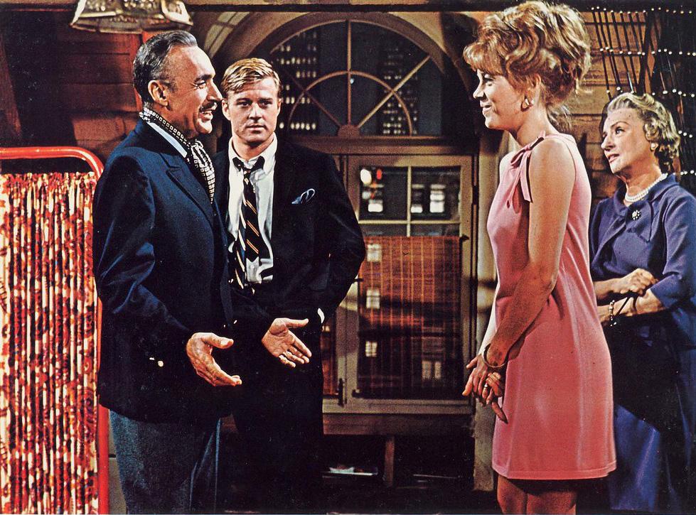 Mildred Natwick Jane Fonda Robert Redford