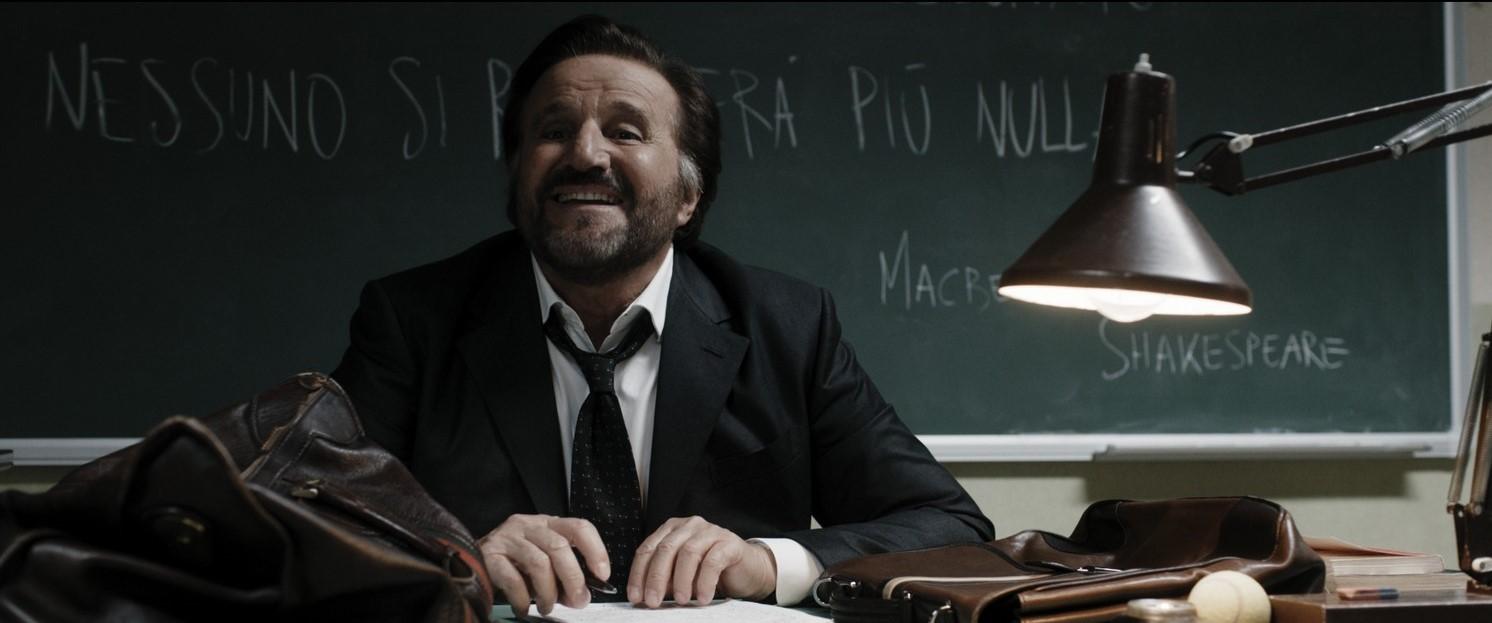 Christian De Sica in Comedians, film di Salvatores