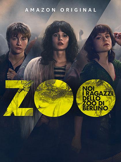 locandina della serie Noi, i ragazzi dello zoo di Berlino. Serie tv Amazon Original