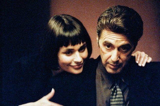 Diane Venora e Al Pacino in una scena di Heat-la-sfida di Michael Mann