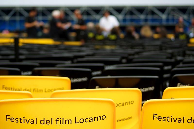 sedie gialle del Festival del Film di Locarno